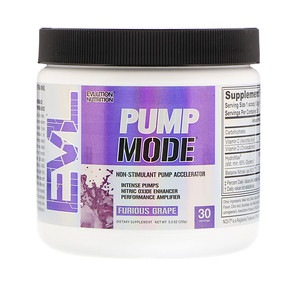 EVL PUMP MODE PREWORKOUT