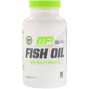 MUSCLEPHARM FISH OIL CAPS