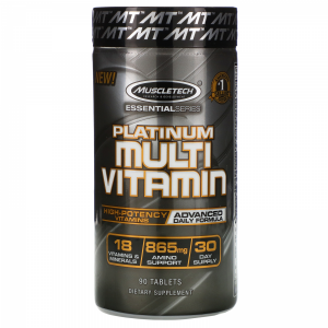 MUSCLETECH MULTIVITAMIN CAPS