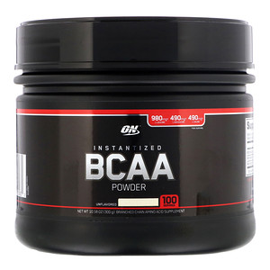 OPTIMUM NUTRITION UNFLAVOURED BCAA
