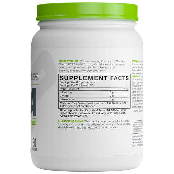 MUSCLEPHARM BCAA POWDER