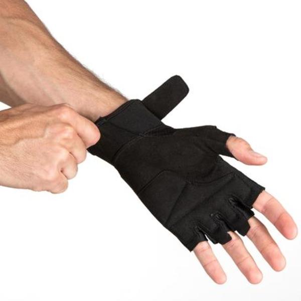 Gloves3 - DOMYOS WEIGHT TRAINING GLOVES