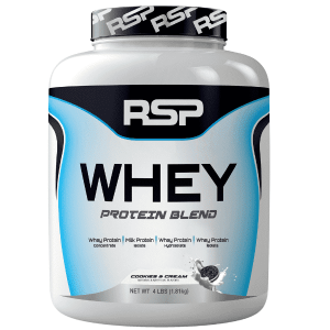 RSP NUTRITION- WHEY PROTEIN BLEND