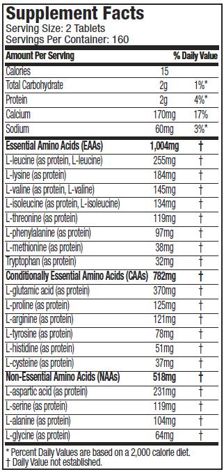 MUSCLETECH PLATINUM100% AMINO 2300 CAPS