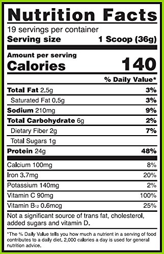 OPTIMUM NUTRITION GOLD STANDARD PLANT BASED