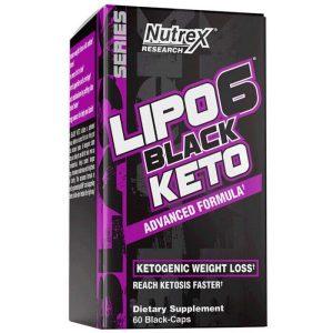 NUTREX LIPO6 BLACK KETO CAPS