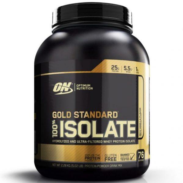 OPTIMUM NUTRITION GOLD STANDARD ISOLATE