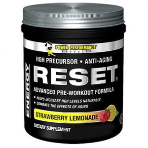 RESET POWER PERFORMANCE PREWORKOUT