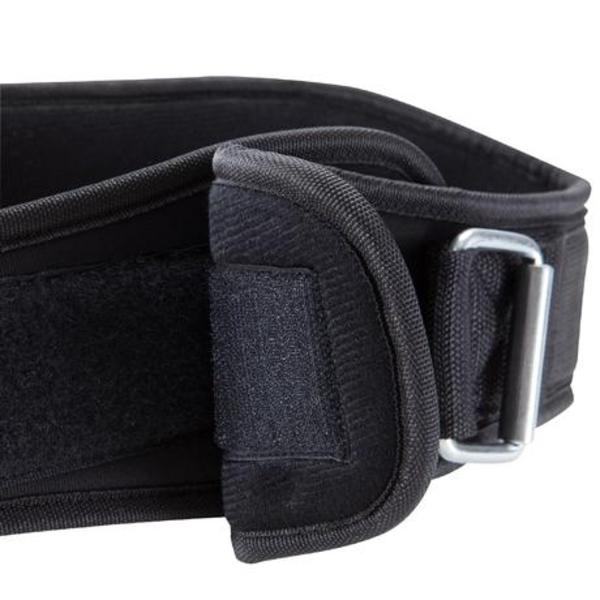 weight training lumbar belt polyester domyos by decathlon 8386249 1129237 1 - WEIGHT TRAINING POLYESTER BELT