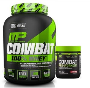 combo picture 2 300x295 - MUSCLEPHARM 100% WHEY + MUSCLEPHARM COMBAT PREWORKOUT
