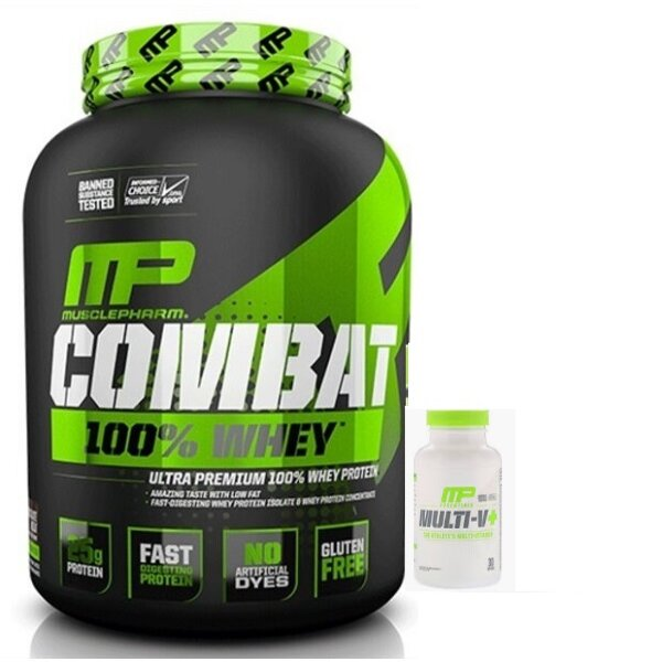 combo picture2 - MUSCLEPHARM 100% WHEY + MUSCLEPHARM MULTIVITAMINS