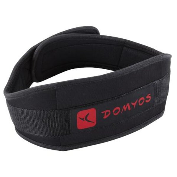weight training lumbar belt polyester domyos by decathlon 8386249 1129231 1 - DYMATIZE ISO 6.4 LBS + GYM BELT + SHAKER