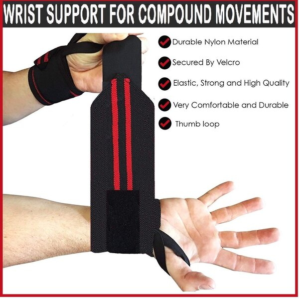 71b5teoAa0L. SL1329 - XTRIM WASHABLE POLYESTER WRIST SUPPPORT - PACK OF 2