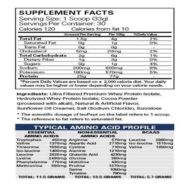 Isopept 30 serves 1 1 - EHP LABS ISO PEPT ZERO + WOMEN'S GYM TIGHTS