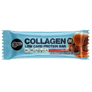 bsc collagen protein bar caramel choc 300x300 - BSC COLLAGEN LOW CARB PROTEIN BAR
