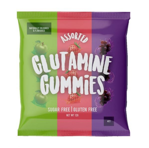 glutamine gummy 4ct 1 599x598 - Glutamine Gummies 60g