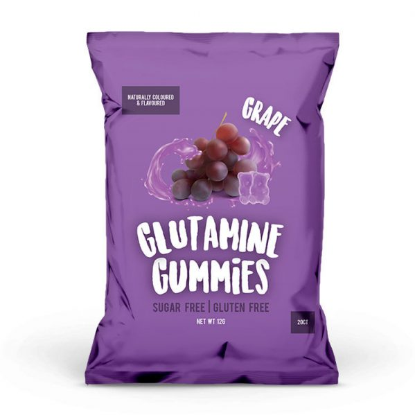 glutaminegummies grape 599x599 - Glutamine Gummies 60g